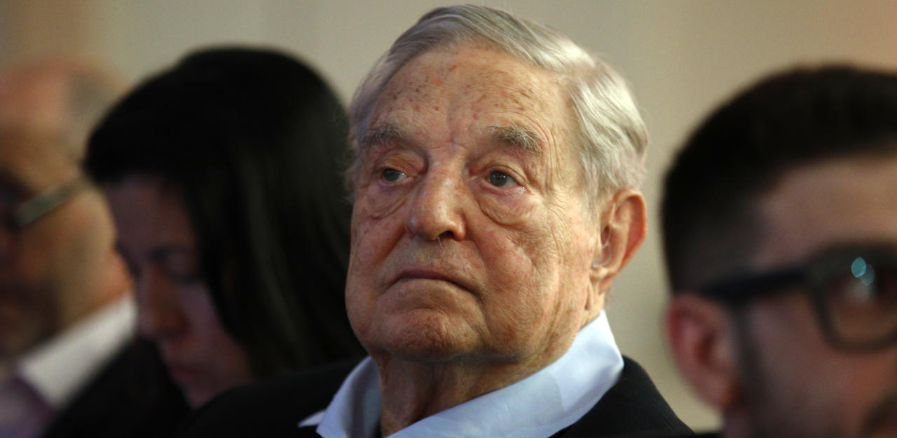Investment-Milliardär und Philanthrop George Soros.