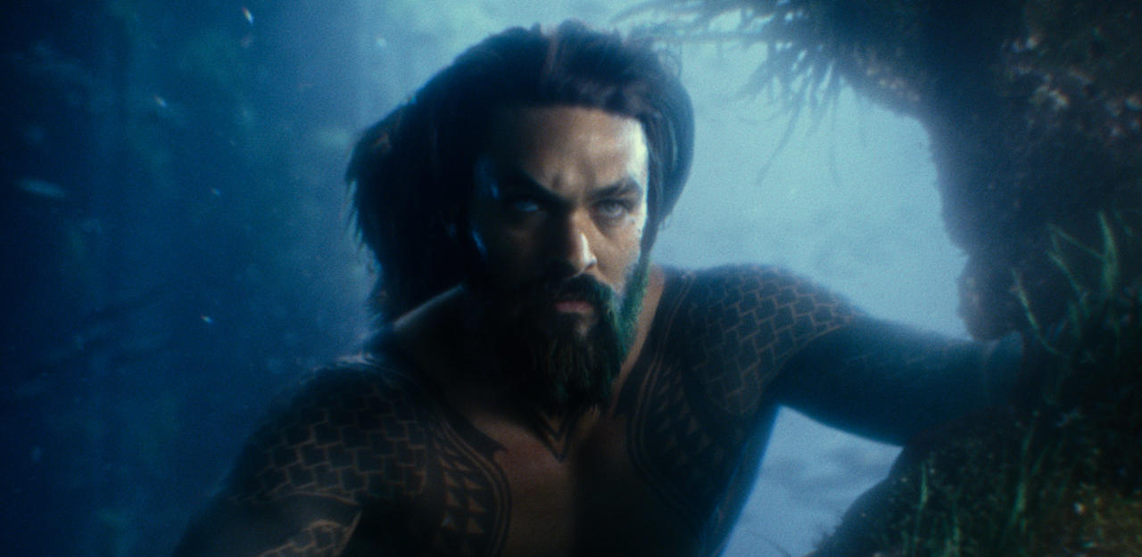 "Jason Momoa als Aquaman in ""Justice League""."