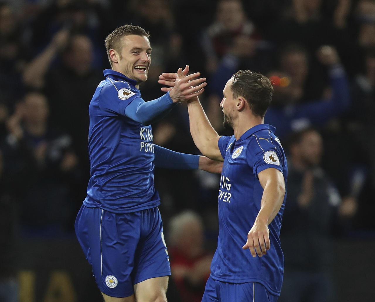 Jubel bei Leicester City